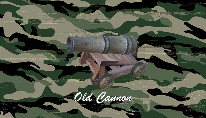 Old Cannon with base