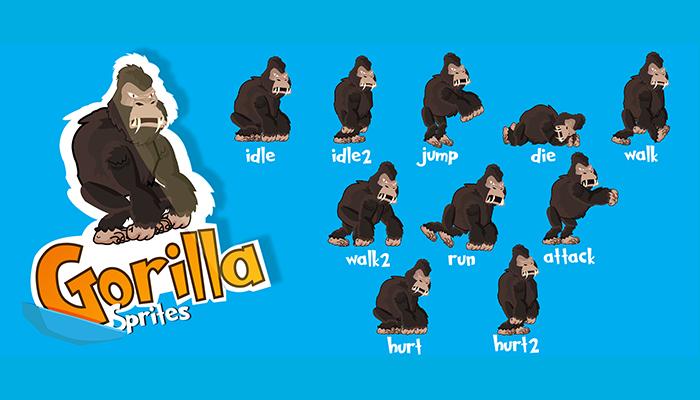 Gorilla 2D