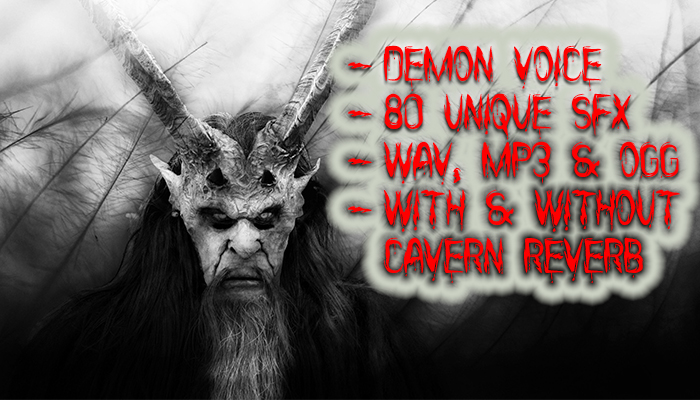 Evil Demon Mini VoicePack 1