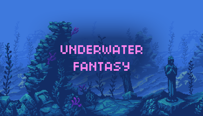 Underwater fantasy Environment