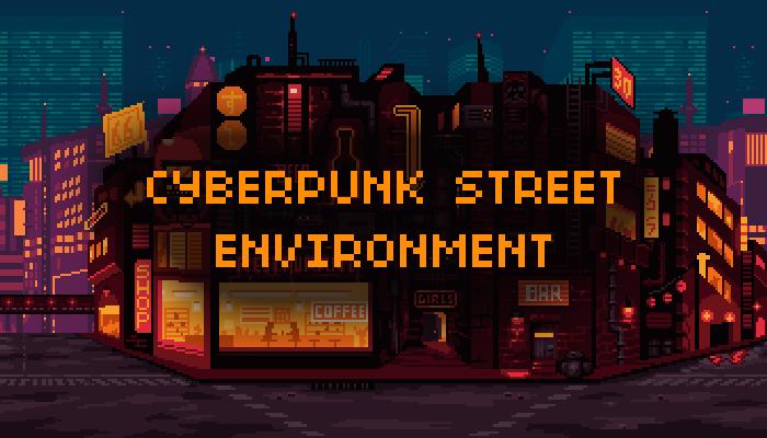 Cyberpunk Street Environment