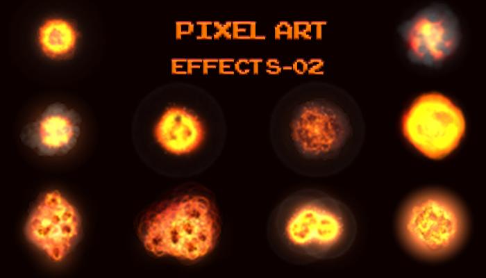 Pixel Art Effects 02
