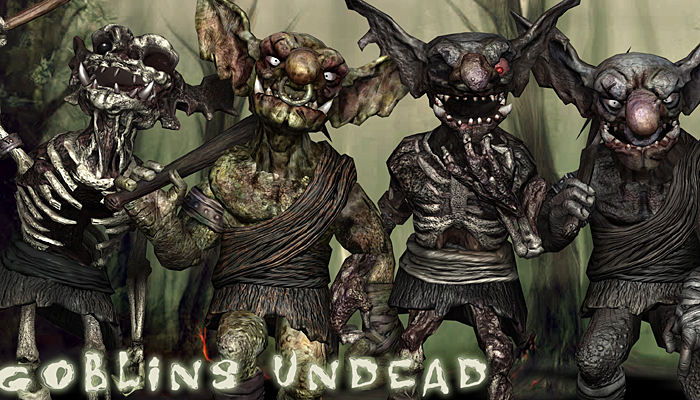 3DRT – Undead Goblins