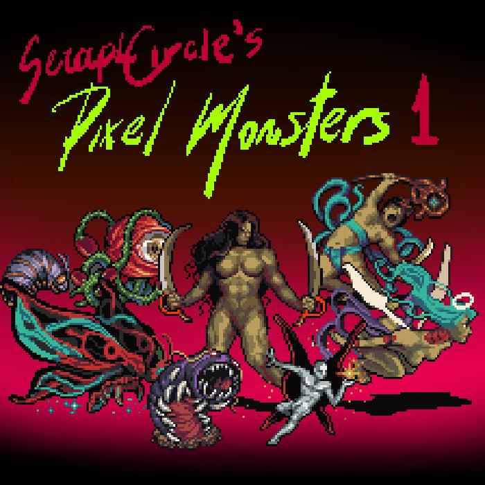 JS Pixel Monsters 1
