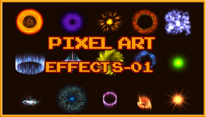 Pixel Art Effects 01
