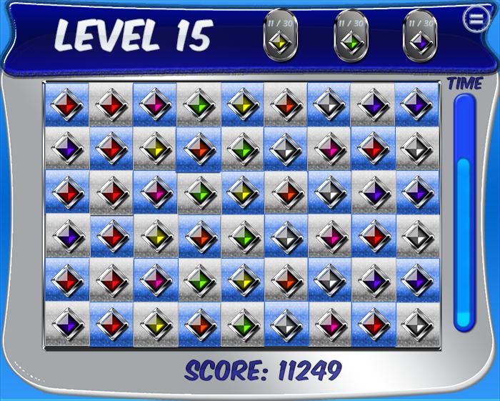 Match 3 Game GUI Kit 2
