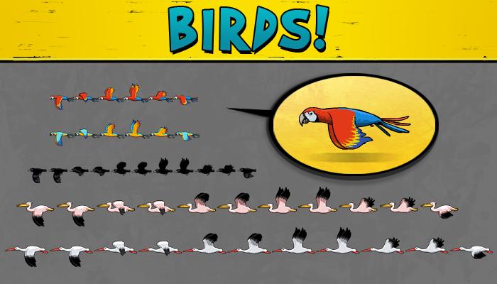 2D Birds Pack