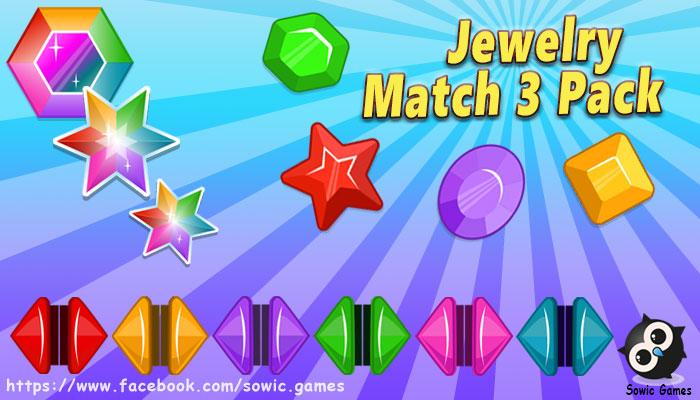 Jewelry Match 3 Pack