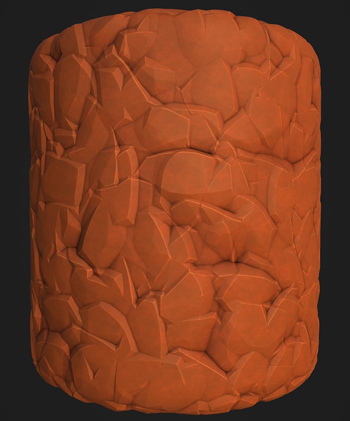 Stylized Rocks 2
