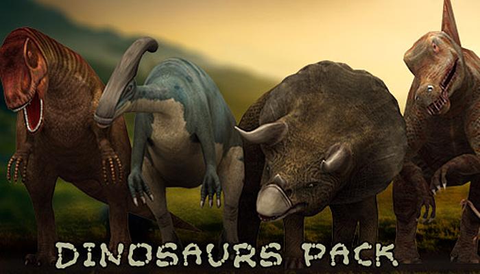 3DRT – Dinosaurs Pack