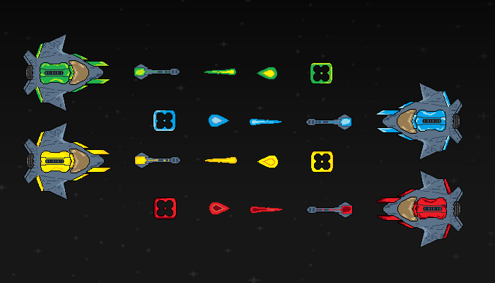 Pixel Spacecraft games
