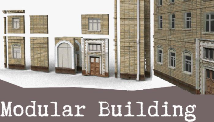 Modular brick house