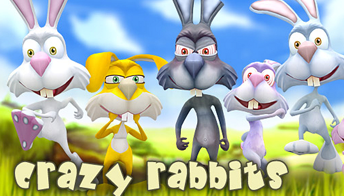 3DRT – Crazy Rabbits