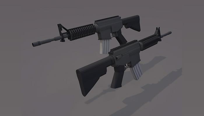 M4A1 Carbine NOT sopmods
