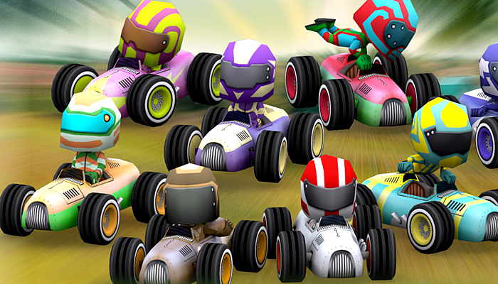 3DRT – Chibii Racers – Retro Cars