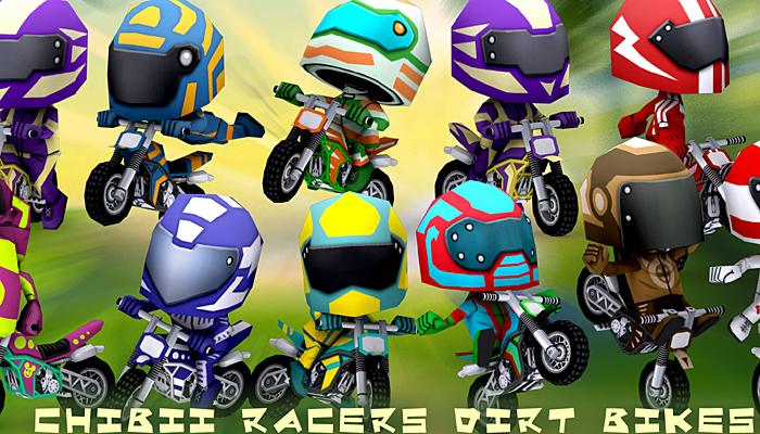 3DRT – Chibii Racers – Dirt Bikes