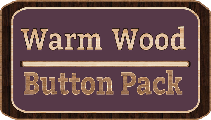 Warm Wood Button Pack