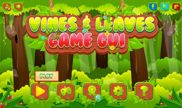 Vines and Leaves – Game GUI