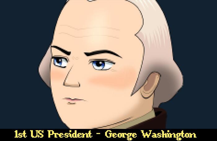 RPG Anime President Face – 1st President