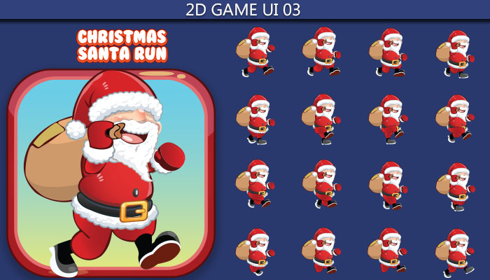 Santa Run Game GUI