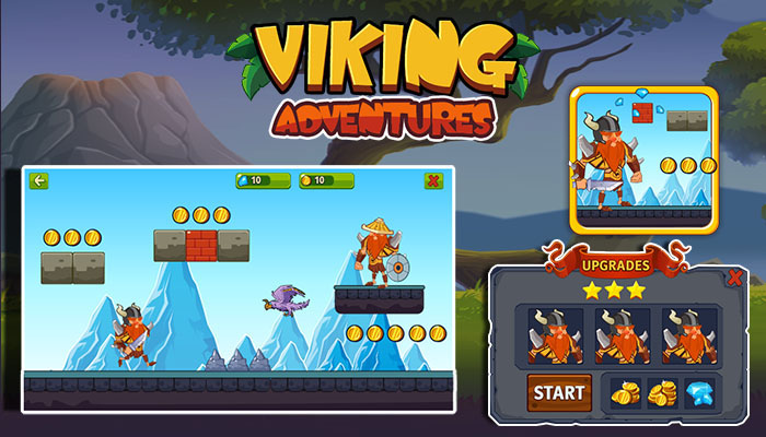 Viking Adventures Game