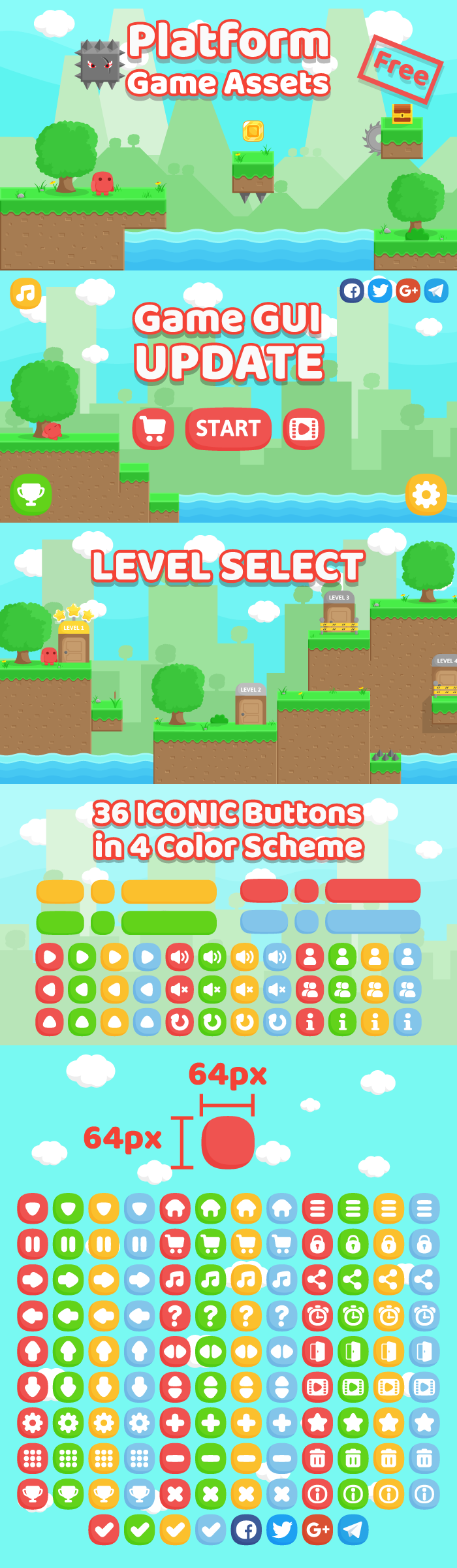 Free Platform Game Assets