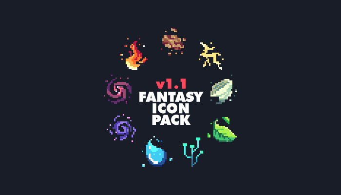 Fantasy Icon Pack