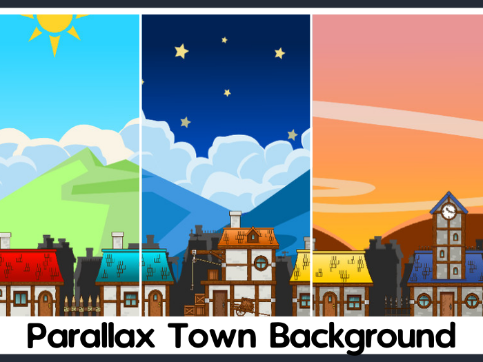 2D Town Pack