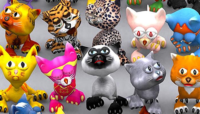 3DRT – Toonpets Cats