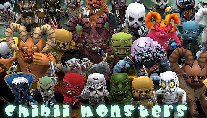 3DRT – Chibii Monsters