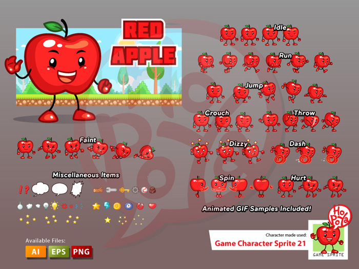 Game Character Sprite 21