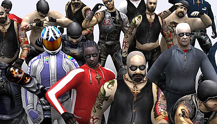3DRT – Bikers Gang Pack