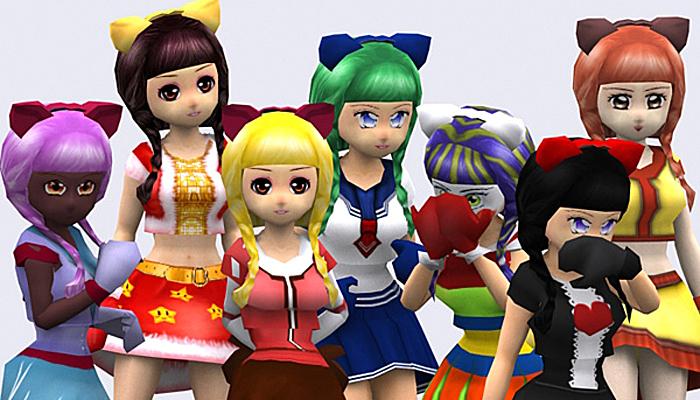 3DRT – Yoko Anime Girls