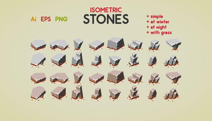 Isometric Stones