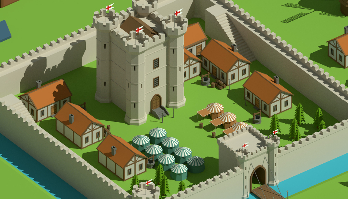 SimplePoly Medieval – Low Poly Assets