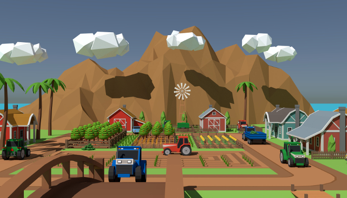 SimplePoly Farm – Low Poly Assets
