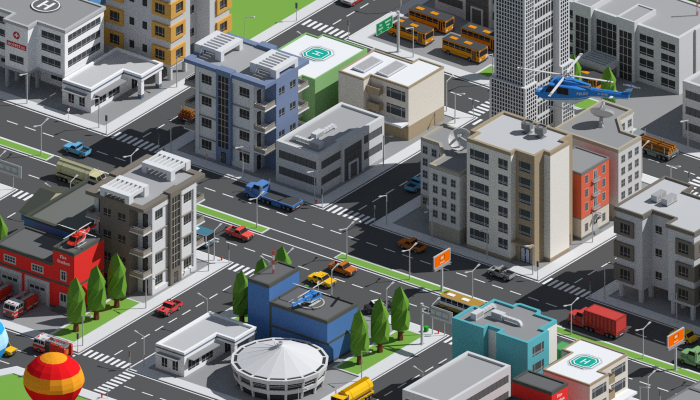 SimplePoly Urban – Low Poly Assets