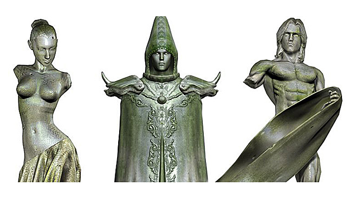 3DFoin – Statues Pack