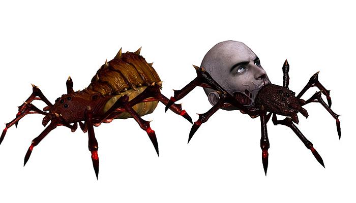 3DFoin – Terror Spider