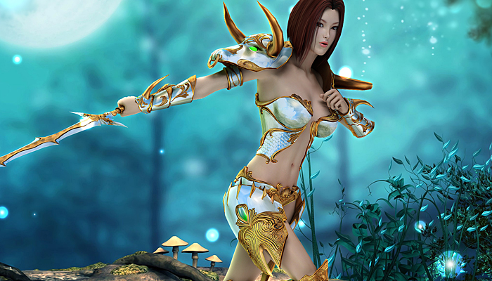 3DFoin – Female Royal Knight