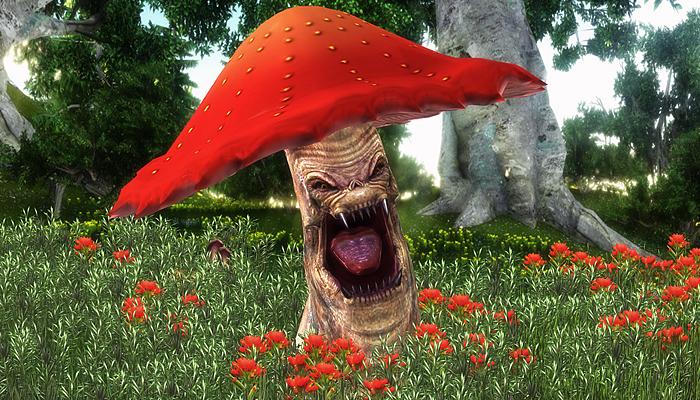 3DFoin – Mushroom Monster
