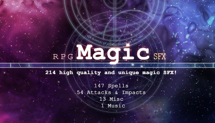 RPG Magic SFX Pack