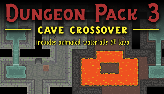 Dungeon Pack 3 – Cave Crossover