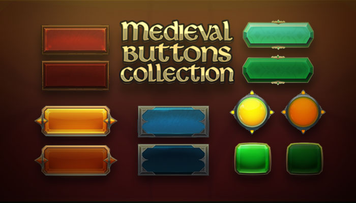 Medieval Buttons