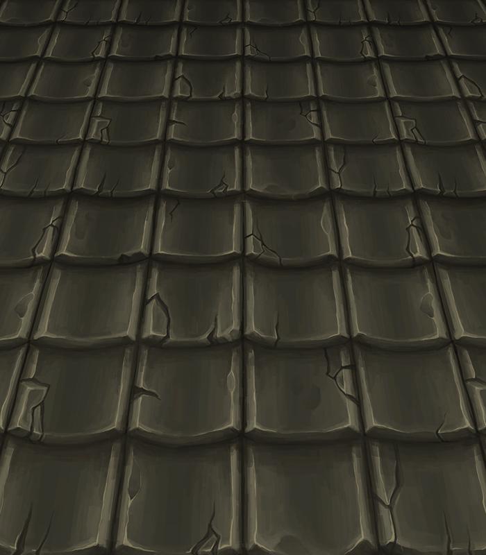 Handpainted Roof 5