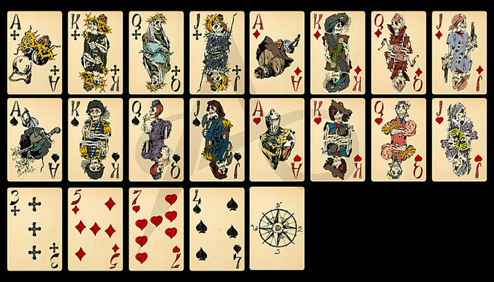 Pirates playing cards.