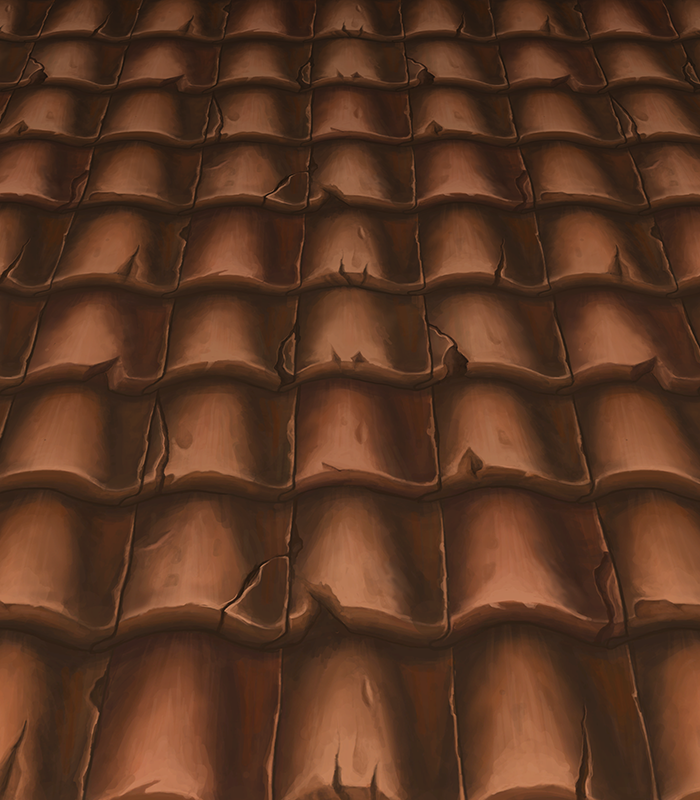 Handpainted Roof 1