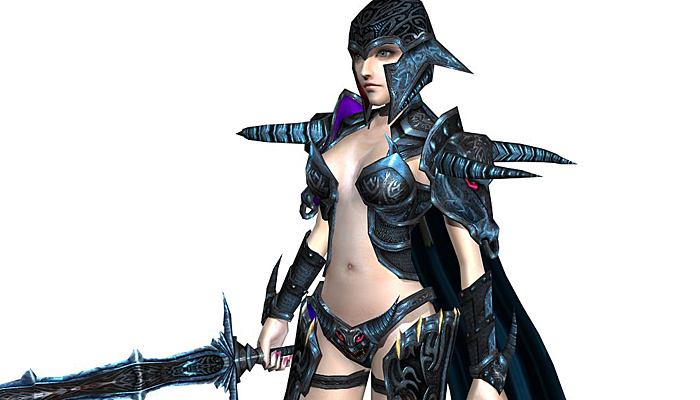 3Dfoin – Female Warrior