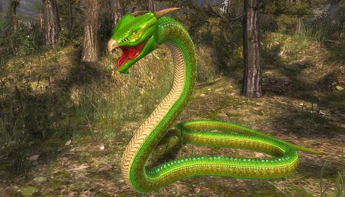 3Dfoin – Fantasy Snake