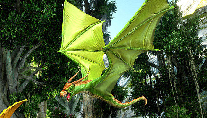 3Dfoin – Dragon Bat